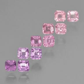 Multicolor Sapphire Gem - 0.2ct Octagon Step Cut (ID: 464212)