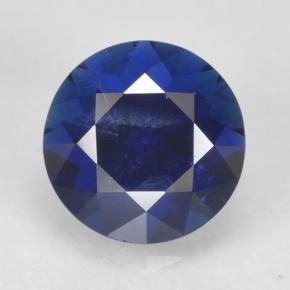 0.8ct Diamond-Cut Dark Blue Sapphire Gem (ID: 467325)
