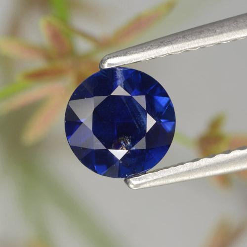 0.8ct Diamond-Cut Dark Blue Sapphire Gem (ID: 467331)