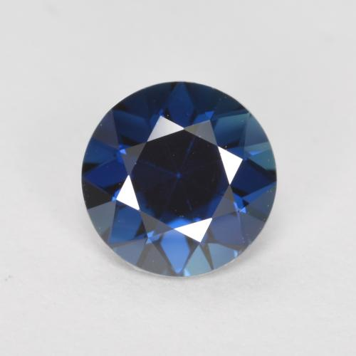 Blue Sapphire Gem - 0.8ct Diamond-Cut (ID: 467332)