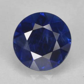 Blue Sapphire Gem - 0.8ct Diamond-Cut (ID: 467334)