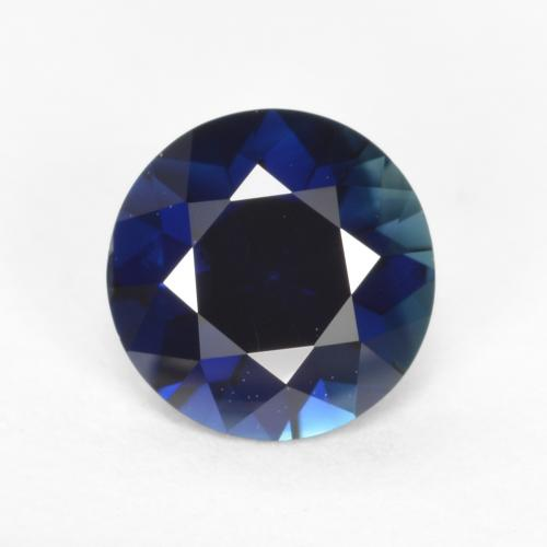 Blue Sapphire Gem - 0.6ct Diamond-Cut (ID: 467403)
