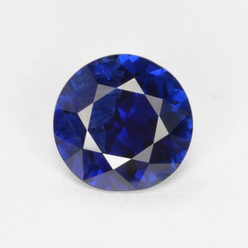 0.5ct Diamond-Cut Dark Blue Sapphire Gem (ID: 467433)