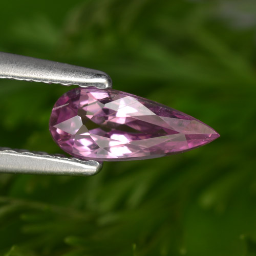 0.6ct Pear Facet Purple Pink Sapphire Gem (ID: 467710)