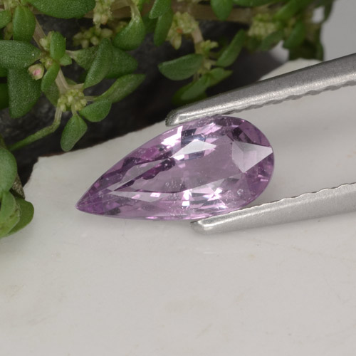 Pink Sapphire Gem - 0.8ct Pear Facet (ID: 467920)