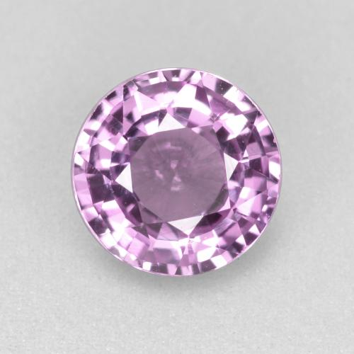 thumb image of 0.9ct Round Facet Pinkish Violet Sapphire (ID: 468012)
