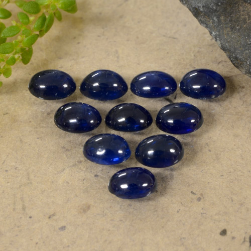 Blue Sapphire Gem - 0.2ct Oval Cabochon (ID: 470796)