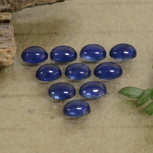Blue Sapphire Gem - 0.3ct Oval Cabochon (ID: 471159)