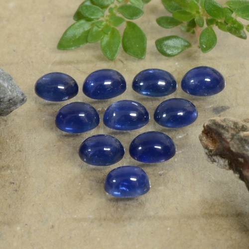 Blue Sapphire Gem - 0.3ct Oval Cabochon (ID: 471166)