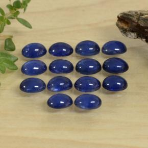 Blue Sapphire Gem - 0.3ct Oval Cabochon (ID: 471407)
