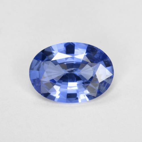 0.7ct Oval Facet Blue Sapphire Gem (ID: 475405)
