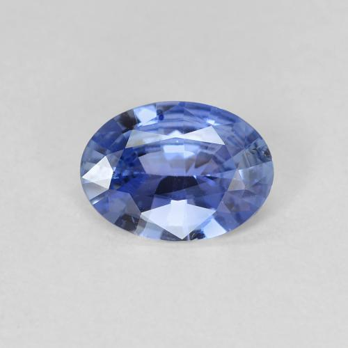 Blue Sapphire Gem - 0.8ct Oval Facet (ID: 475430)