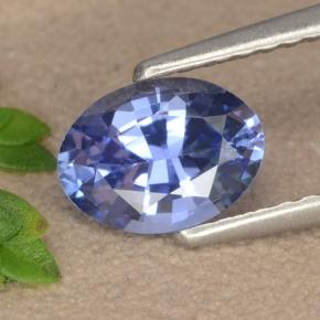 Blue Sapphire Gem - 1.1ct Oval Facet (ID: 475607)