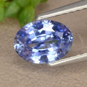 Blue Sapphire Gem - 1ct Oval Facet (ID: 475608)