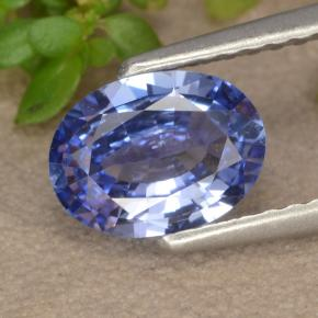 Blue Sapphire Gem - 1.1ct Oval Facet (ID: 475609)