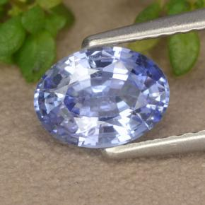 Blue Sapphire Gem - 1.1ct Oval Facet (ID: 475612)