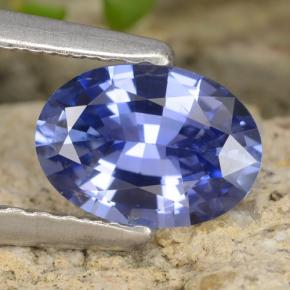 Blue Sapphire Gem - 0.8ct Oval Facet (ID: 475701)