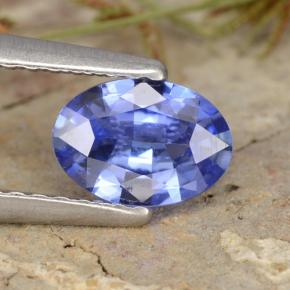 Blue Sapphire Gem - 0.7ct Oval Facet (ID: 475817)