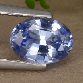 Blue Sapphire Gem - 1.1ct Oval Facet (ID: 475906)