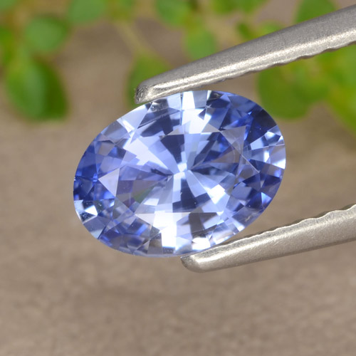 Blue Sapphire Gem - 0.7ct Oval Facet (ID: 476219)