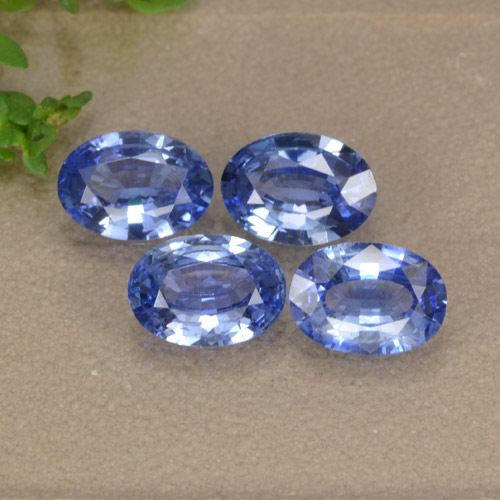 Blue Sapphire Gem - 0.7ct Oval Facet (ID: 476374)