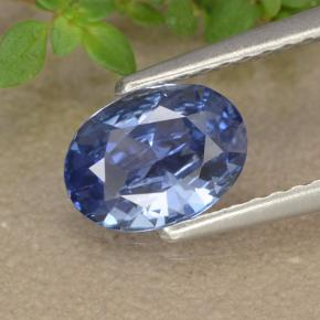 Blue Sapphire Gem - 0.8ct Oval Facet (ID: 476378)