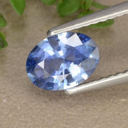 Blue Sapphire Gem - 0.9ct Oval Facet (ID: 476381)