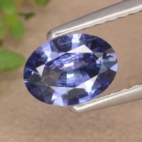 Blue Sapphire Gem - 0.7ct Oval Facet (ID: 476432)