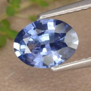 Blue Sapphire Gem - 0.9ct Oval Facet (ID: 476439)