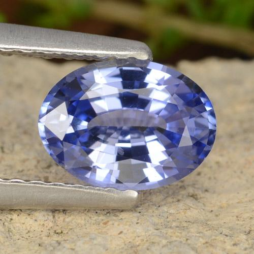 Blue Sapphire Gem - 1.1ct Oval Facet (ID: 476540)