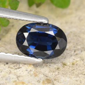 thumb image of 0.8ct Oval Facet Blue Sapphire (ID: 478391)