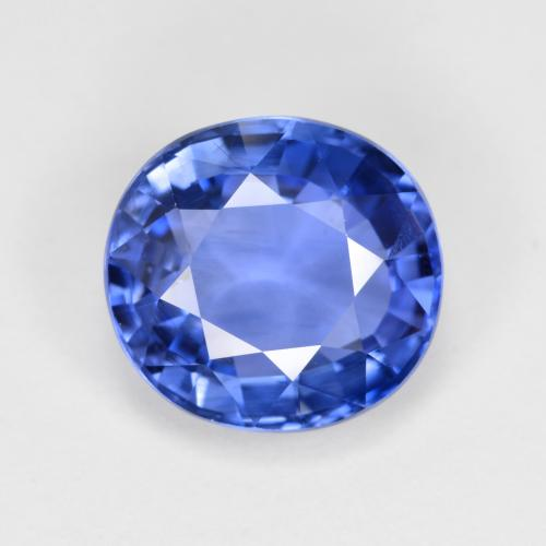 thumb image of 4.2ct Oval Facet Blue Sapphire (ID: 487092)