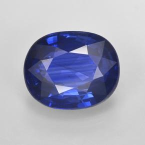 Blue Sapphire Gem - 3.9ct Oval Facet (ID: 487094)