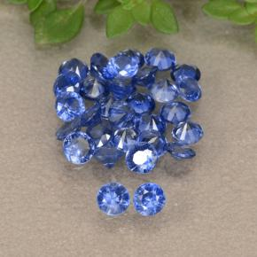 Blue Sapphire Gem - 0.1ct Diamond-Cut (ID: 490799)