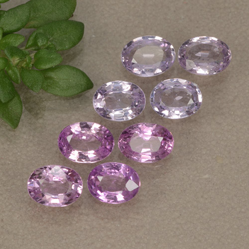 Purple Sapphire Gem - 0.2ct Oval Facet (ID: 492058)