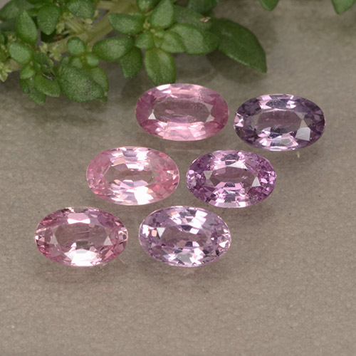 Purple Pink Sapphire Gem - 0.3ct Oval Facet (ID: 492239)