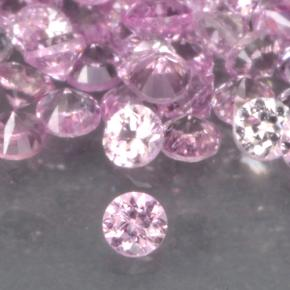 Bright Pink Sapphire Gem - 0ct Diamond-Cut (ID: 499733)