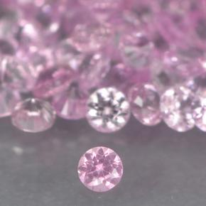 Bright Pink Sapphire Gem - 0ct Diamond-Cut (ID: 499740)