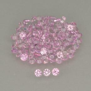Medium Pink Sapphire Gem - 0ct Diamond-Cut (ID: 499818)