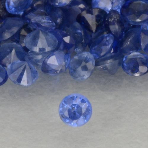 Blue Sapphire Gem - 0ct Diamond-Cut (ID: 500514)