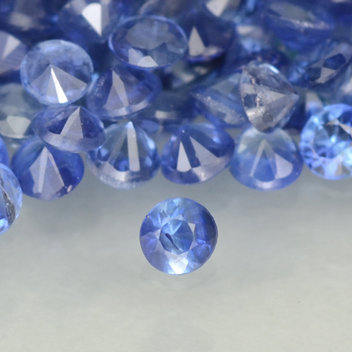 Blue Sapphire Gem - 0ct Diamond-Cut (ID: 500580)