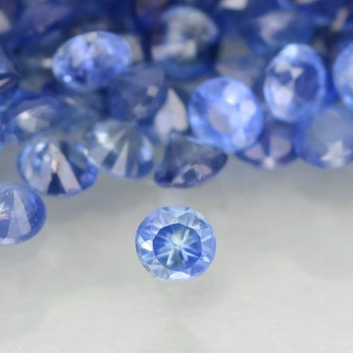Blue Sapphire Gem - 0ct Diamond-Cut (ID: 500586)