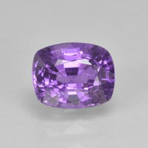 Intense Violet Sapphire Gem - 1ct Cushion-Cut (ID: 503153)