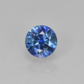 Blue Sapphire Gem - 0.4ct Diamond-Cut (ID: 503682)