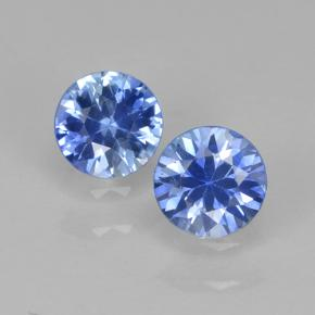 Blue Sapphire Gem - 0.3ct Diamond-Cut (ID: 503685)