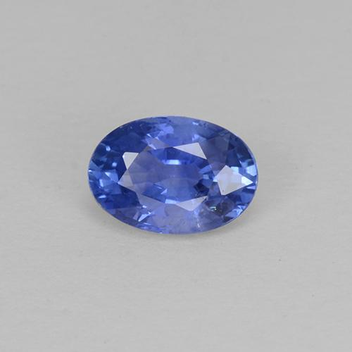 Blue Sapphire Gem - 0.6ct Oval Facet (ID: 504648)