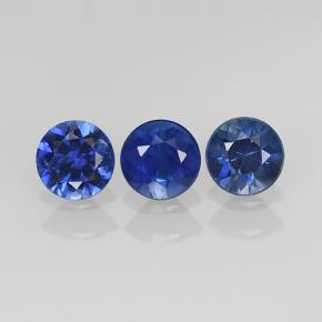 Blue Sapphire Gem - 0.3ct Diamond-Cut (ID: 505049)