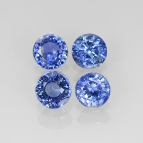 Blue Sapphire Gem - 0.3ct Diamond-Cut (ID: 505050)