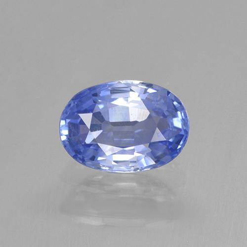 Blue Sapphire Gem - 0.7ct Oval Facet (ID: 505743)
