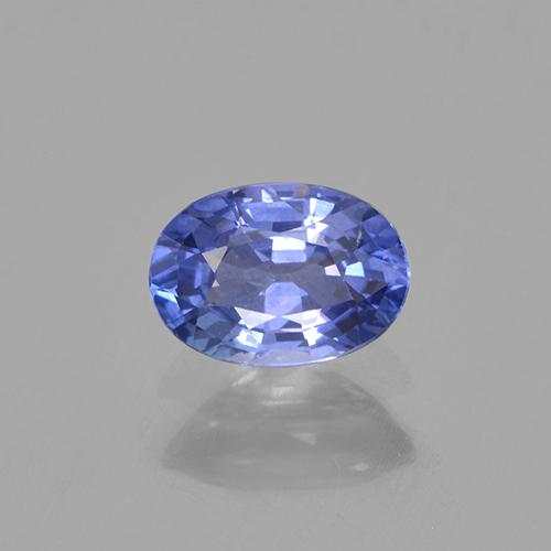 Blue Sapphire Gem - 0.6ct Oval Facet (ID: 505744)